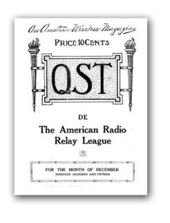 QST 1915 cover page