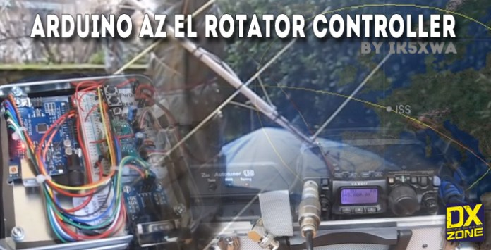 Tracking ISS with Arduino AZ-EL Rotor controller
