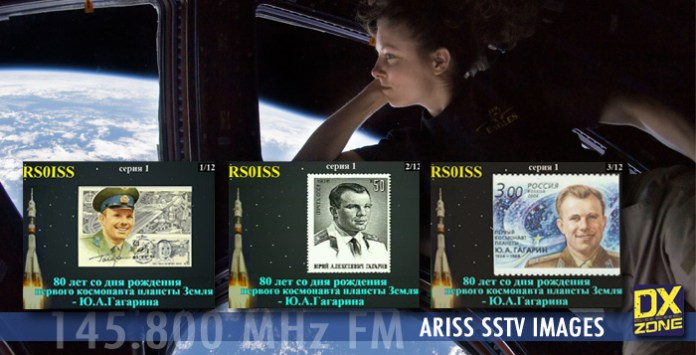 SSTV from ISS this week-end
