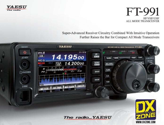 Yaesu FT-991 Video