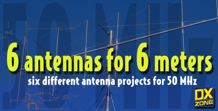 6 antennas for 6 meters