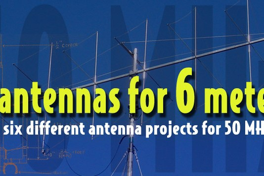 Six Antennas for 4 Six Metes