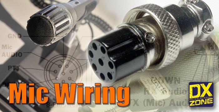 5 mic wiring resources you need to bookmark rh dxzone com CB Radio Microphone Wiring Diagram Cobra 4 Pin Microphone Wiring