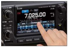 IC-7300 Touch screen