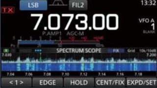 Spectrum scope + Waterfall