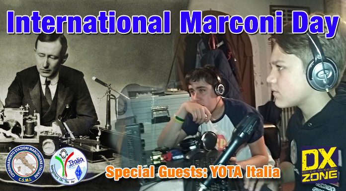 YOTA Celebrating International Marconi Day