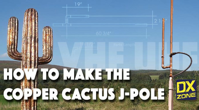 Make your own Copper Cactus Antenna