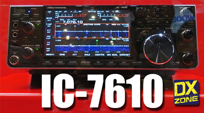 Icom Announce IC-7610