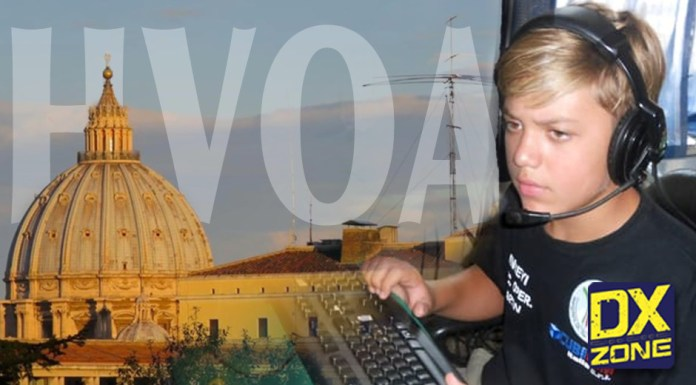 HV0A Vatican City by 13 Years Old Ham Radio Operator Martin Faraglia