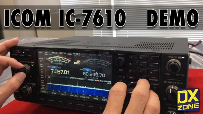First ICOM IC-7610 Demonstration