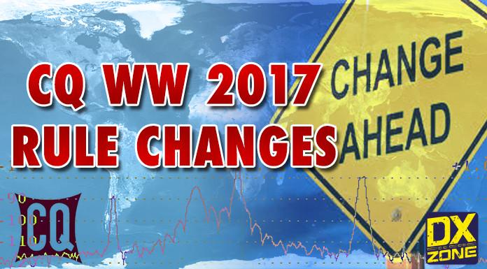 CQ WW Rule Changes
