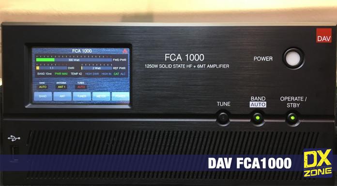 DAV FCA1000 HF+50 MHz Power Amplifier