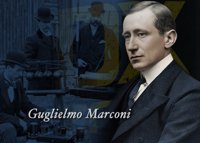 How Did Guglielmo Marconi Demonstrate the Radio Communications