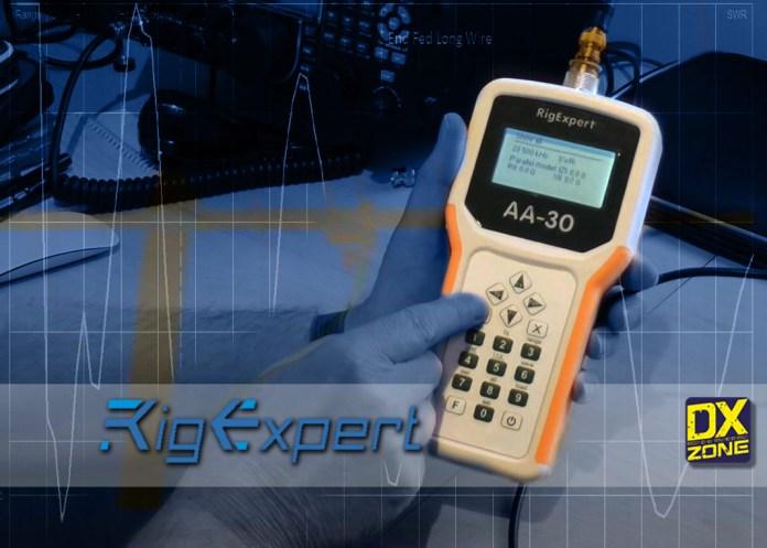 AA-30 Analyzer by RigExpert a powerful antenna analyzer