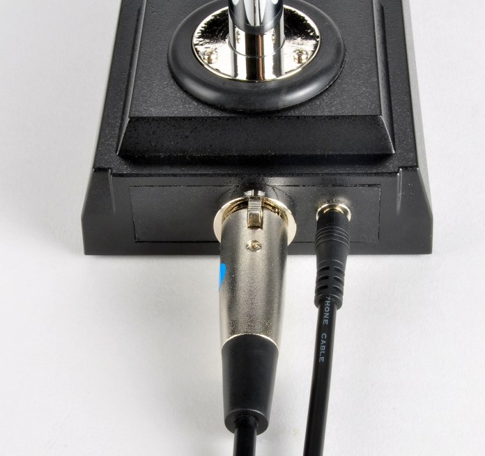 The back of the Inrad Microphones