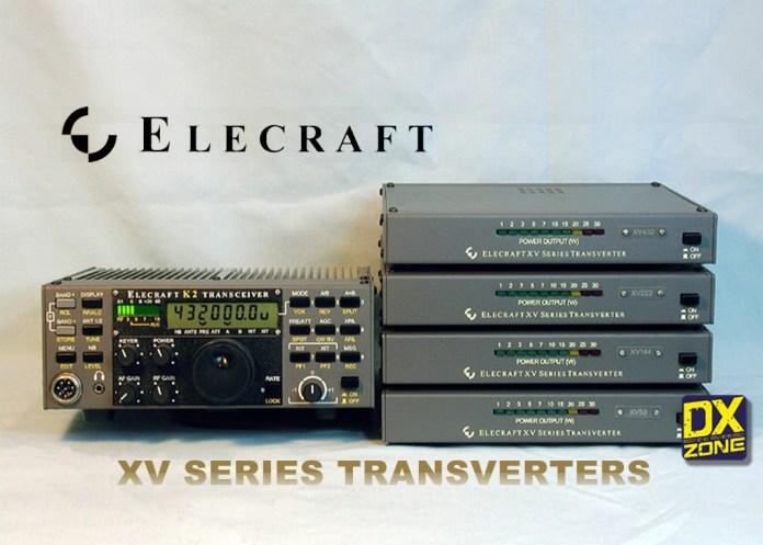 Elecraft XV Transverters XV50 XV144  XV222 and XV432