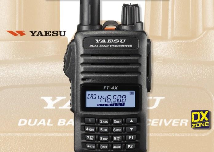 Yaesu FT-4XR / FT-4XE VHF/UHF HT