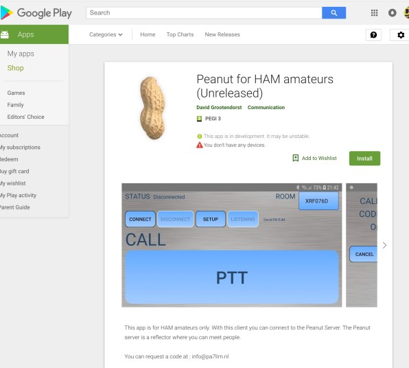 Peanut App for Android