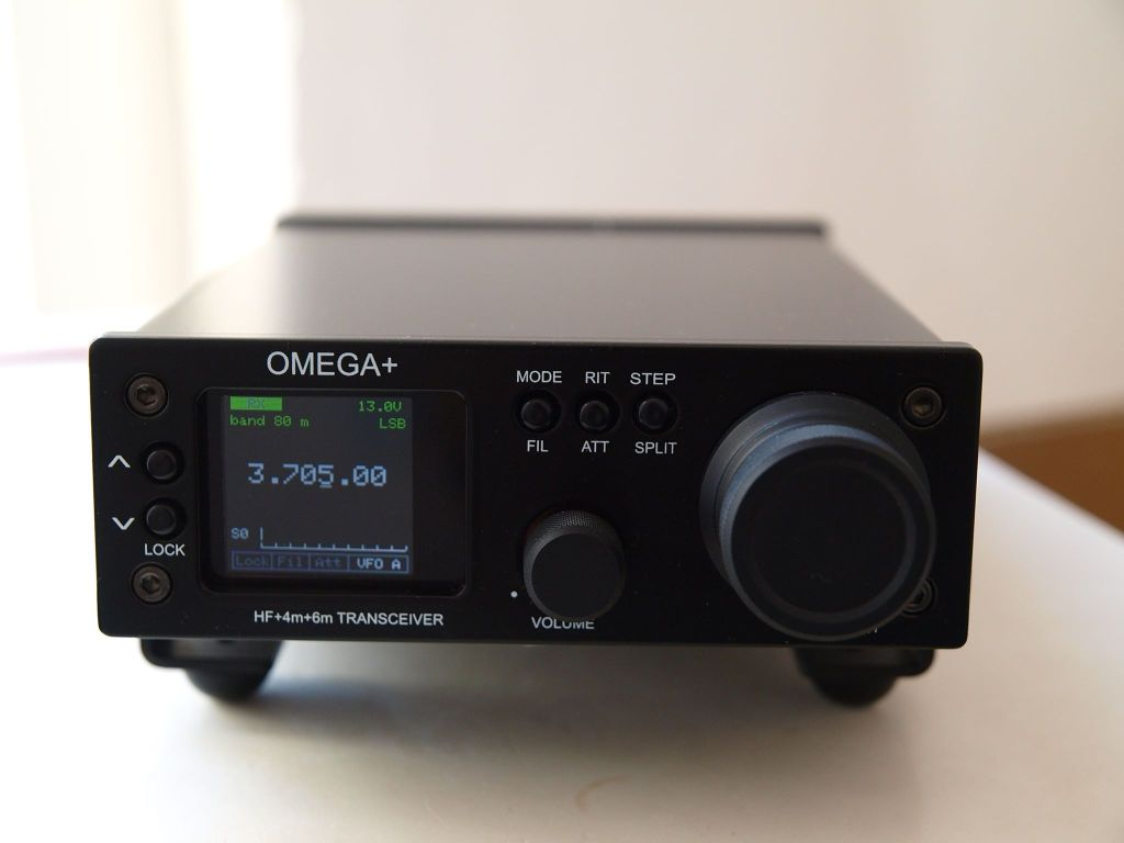 Omega+ Portable Radio Front