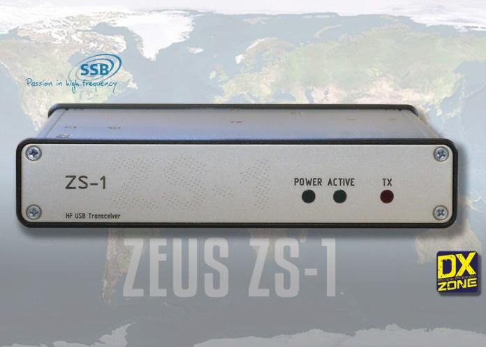 Zeus ZS-1 HF USB SDR Transceiver