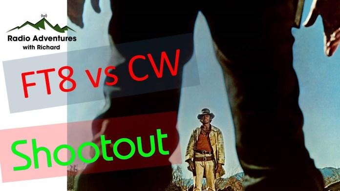 FT8 vs CW – an amateur radio shootout