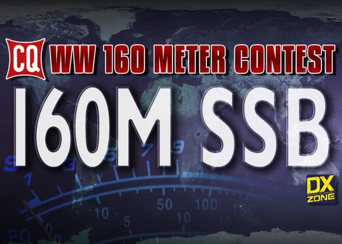CQ WW 160 m SSB Contest 2020