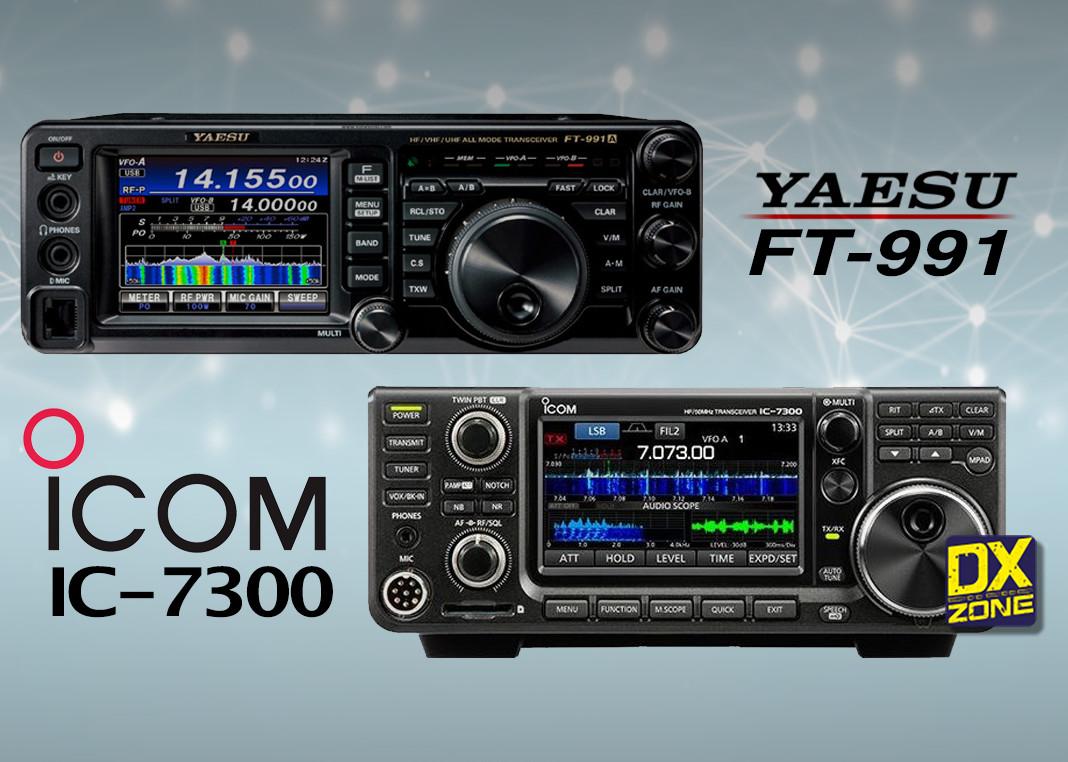 IC7300 vs FT991