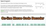 Morse Code Audio Decoder