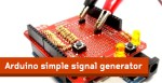 Arduino simple signal generator