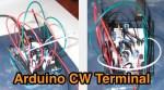 Arduino CW Terminal