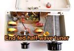 End fed half wave tuner