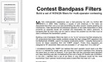 Contest Bandpass Filters