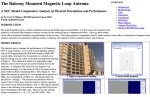 The Balcony Mounted Magnetic Loop Antenna