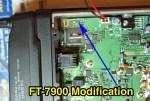 Yaesu FT-7800 7900 Mod