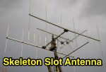 VHF Skeleton Slot Antenna