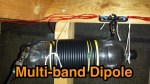 How to construct a multi-band dipole using speaker wire