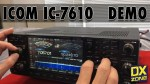 IC-7610 Demonstration Videos