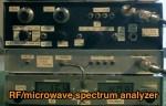 Homemade microwave spectrum analyzer