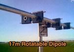 Half-Wave 17 Meter Rotatable dipole