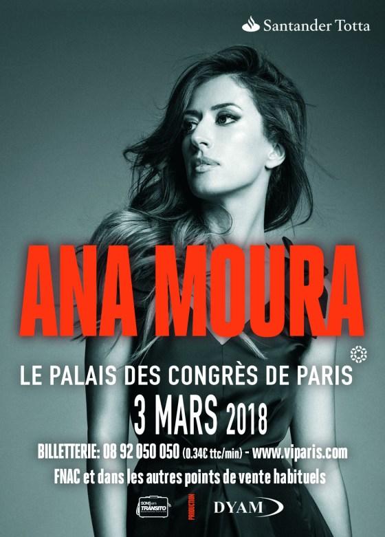 Ana Moura - Palais des Congrès