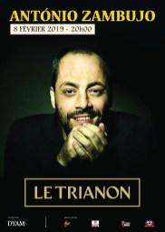 António Zambujo Trianon Paris