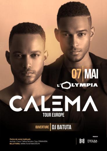 CALEMA live @ Olympia de Paris