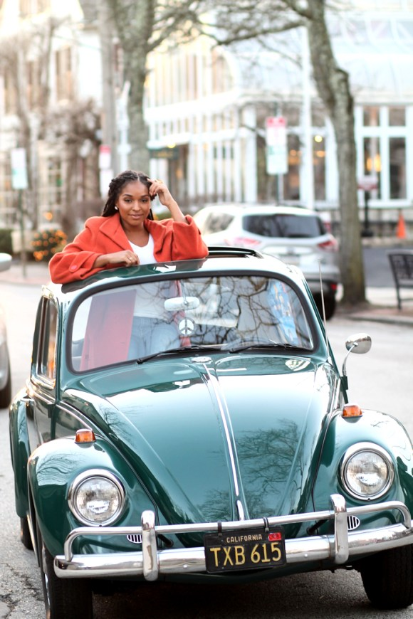 Dyandra-Raye-Statement-Coat-Vintage-Car