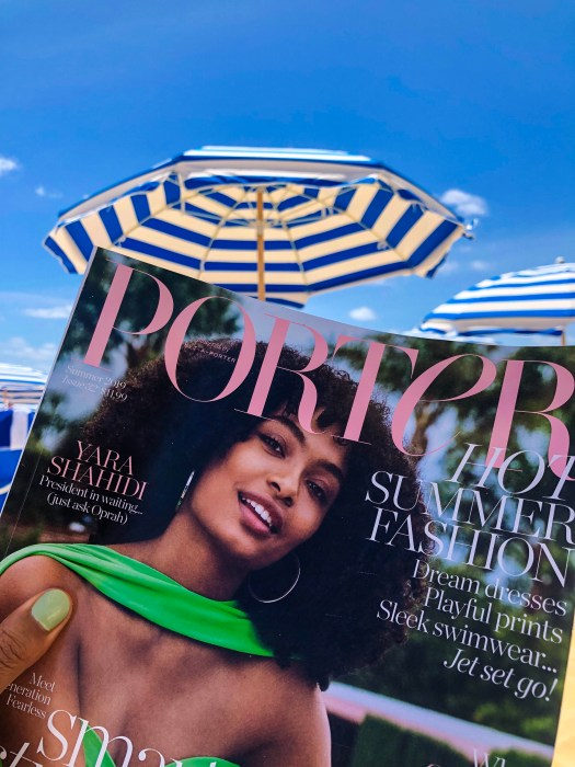 Porter Magazine Beach Reading