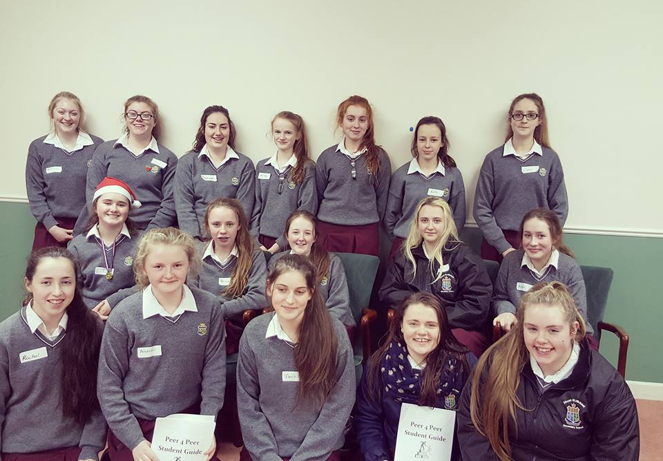 Mount-St.-Michael-Claremorris-students-completed-2-day-training-on-the-peer-for-peer-project