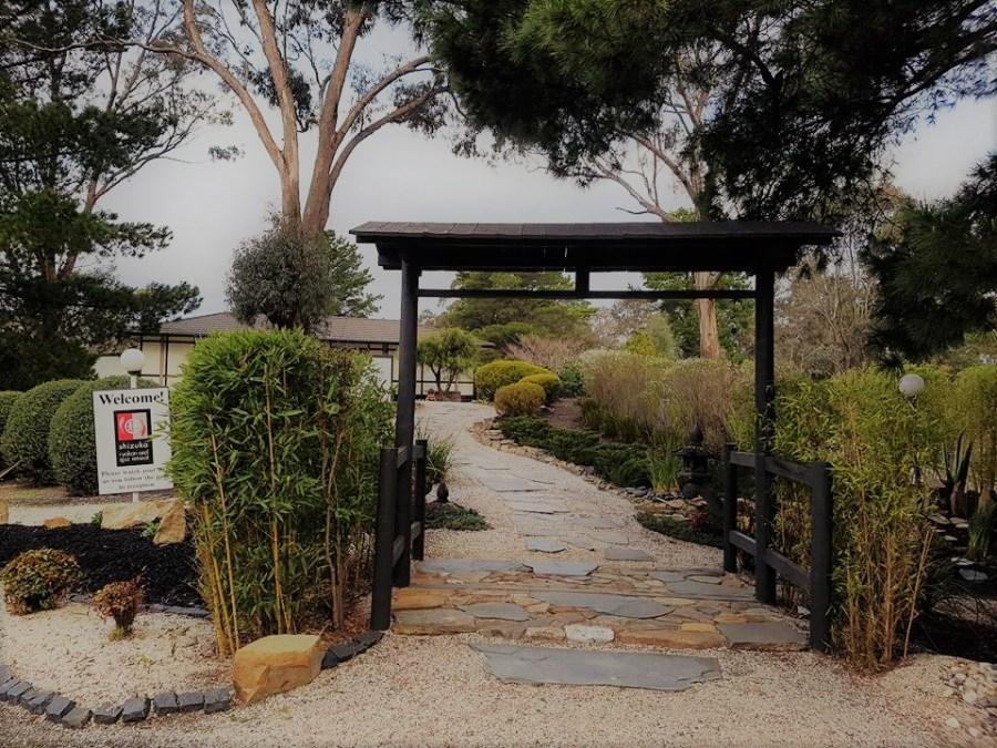 Entrance to our amazing SAORI Retreat at Shizuka Ryokan