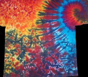 tie dye, tie-dye, tie dyed, tie-dyed, shirt, women, ladies