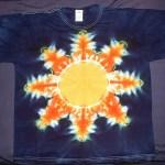 tie dye, tie-dye, tie-dyed, tie dyed, shirt, sun, star, phoenix, suns