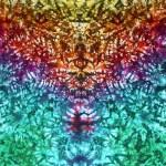 Rainbow Marble Vee