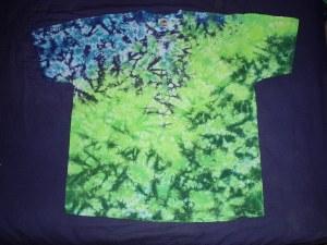 tie dye, tie-die, tie-dyed, tie dyed, shirt , blue, green